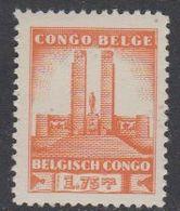 Belgisch Congo 1941 Monument Koning Albert I Te Leopoldstad 1.75Fr  1w ** Mnh (42934D) - 1923-44: Ongebruikt