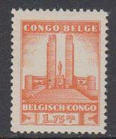 Belgisch Congo 1941 Monument Koning Albert I Te Leopoldstad 1.75Fr  1w ** Mnh (42934E) - 1923-44: Ongebruikt