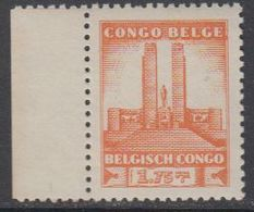 Belgisch Congo 1941 Monument Koning Albert I Te Leopoldstad 1.75Fr  1w ** Mnh (42934F) - 1923-44: Ongebruikt