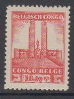 Belgisch Congo 1941 Monument Koning Albert I Te Leopoldstad 10Fr  1w ** Mnh (42934K) - 1923-44: Ongebruikt