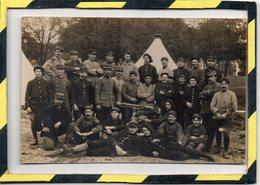 VERITABLE CARTE PHOTO. - . REGIMENT DE CHASSEURS ALPINS. CARTE SIGNEE PAR HENRI TAILLANDIER - Regiments