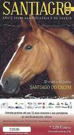 PORTUGAL - Entry Ticket - SANTIAGRO - XXXII Agricultural And Horse Fair - Autres Collections