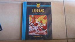 LEFRANC DOS TOILE LA COLLECTION T2 L'OURAGAN DE FEU   MARTIN  CHAILLET - Lefranc