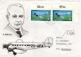 D+ Berlin 1979 Mi 593 Hugo Junkers (UNIKAT / ÙNICO / PIÉCE UNIQUE / JEDINEČNÝ) - [5] Berlijn