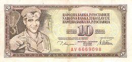 10 Dinar Banknote Jugoslawien 1994 VF/F (III) - Jugoslawien
