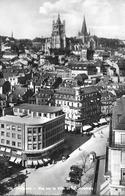 LAUSANNE → Vue Sur La Ville Avec Oldtimer Anno 1954 - VD Waadt