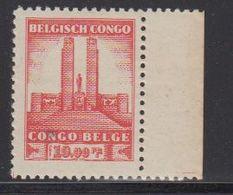 Belgisch Congo 1941 Monument Koning Albert I Te Leopoldstad 10Fr  1w Bladboord (see Scan) ** Mnh (42934P) - 1923-44: Ongebruikt
