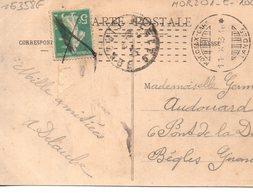 France : Landes ,  Cachet Morcenx Gare - Poststempel (Briefe)