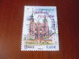 OBLITERATION RONDE SUR TIMBRE NEUF YVERT N° 4639 - France