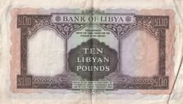 10 POUNDS 1963 - Libië