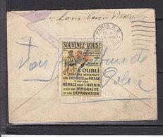 FRANCE VIGNETTE SOUVENEZ VOUS - Commemorative Labels