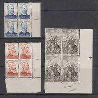 Belgisch Congo 1947 Overwinning Slavenhandel 3v Bl V. 4 ** Mnh (42935) - 1947-60: Ongebruikt