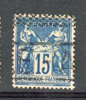 Rare N° 101 - Cachet ANNULE  De La Caisse D'Epargne - 1876-1898 Sage (Type II)