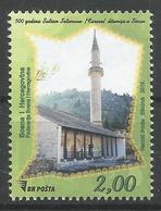 BH 2019-02 MOSQUE IN SOCI, BOSNA AND HERZEGOVINA, 1 X 1v, MNH - Bosnien-Herzegowina