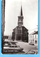 Velaine-sur-Sambre (Sambreville)-+/-1960-L'Eglise-Vieilles Voitures-VW Volkswagen-Coccinelle-Käfer-Edit.Smetz - Sambreville