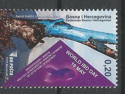BH 2019-06 WORD IBD DAY, BOSNA AND HERZEGOVINA, 1 X 1v, MNH - Bosnien-Herzegowina