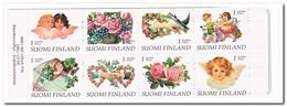 Finland 1997, Postfris MNH, Flowers, Birds, Roses - Libretti