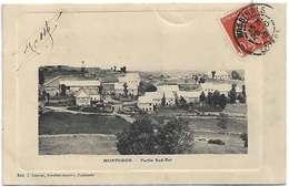 48 Montgros 1912 Partie Du Sud-Est Dos Scanné éditeur Lauriac Buraliste Nasbinals RARE - Other Municipalities