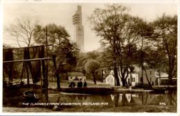 EXHIBITIONS - 1938 SCOTLAND EMPIRE EXHIBITION - GLASGOW - THECLACHAN RP Gls110 - Exhibitions