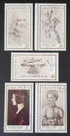1969 The 450th Anniversary Of The Death Of Leonardo Da Vinci, Albania, Shqipëria, *,**, Or Used - Albanie
