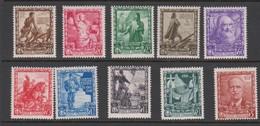Italy S 439-448 1938 Empire, Mint Hinged - 1900-44 Vittorio Emanuele III