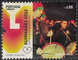 Portugal 2012 Oblitéré Used Fêtes Nicolinas Guimarães Capitale Européenne De La Culture SU - 1910-... République