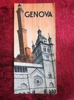 ITALIA GENOVA GENES -Vecchi Opuscoli Turistici -oeristische Brochure-Ancien Dépliant Touristique-OLD Tourist Brochure - Dépliants Turistici