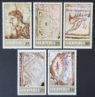 1969 Antique Mosaics, Albania, Shqipëria, *,**, Or Used - Albanie