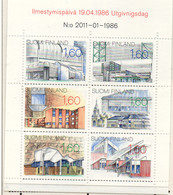 PIA - FINLANDIA - 1986 - Architettura Finlandese    - (Yv C 951) - Architettura