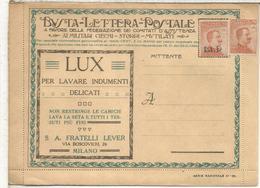 ITALIA BLP HACIA 1920S CARTA CON PUBLICIDAD DIVERSA LUZ CINZANO VERMOUTH VINO WINE NEUMATICO CHOCOLATE CACAO COCOA FARMA - Vinos Y Alcoholes