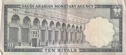 10 RIYALS 1968 - Saoedi-Arabië