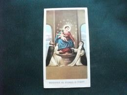 SANTINO HOLY PICTURE IMAGE SAINTE MADONNA DEL ROSARIO DI POMPEI 125 - Religione & Esoterismo
