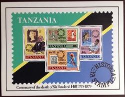 Tanzania 1980 London '80 Minisheet MNH - Tanzania (1964-...)