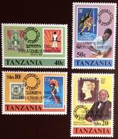Tanzania 1980 London '80 MNH - Tanzania (1964-...)