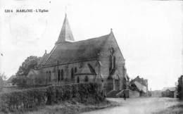 Marloie - L'Eglise (animée, Bibliothèques Des Gares, Saia 1928) - Marche-en-Famenne