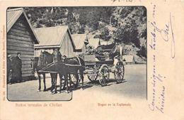 Chile - Banos Termales De CHILLAN - Bogue En La Esplanada - Ed. Brandt 125. - Chile