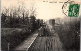 60 LIANCOURT - La Gare, Passage D'un Train - Liancourt