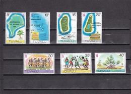 Tuvalu Nº 73 Al 79 - Tuvalu