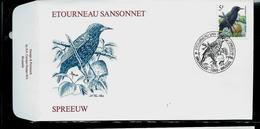 FDC Du N° 2638  Etourneau Sansonnet  /  Spreeuw  Obl. Bruxelles - Brussel  06/05/1996 - 1985-.. Oiseaux (Buzin)