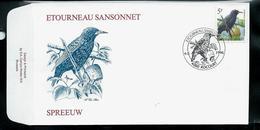 FDC Du N° 2638  Etourneau Sansonnet  /  Spreeuw  Obl.   Rocourt  04/05/1996 - 1985-.. Oiseaux (Buzin)
