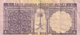 1 RIYAL 1968 - Saoedi-Arabië