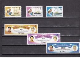 Tuvalu Nº 155 Al 160 - Tuvalu