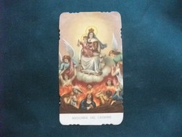 SANTINO HOLY PICTURE IMAGE SAINTE PREGHIERA ALLA MADONNA DEL CARMINE 141 - Religion & Esotérisme