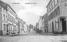 Gembloux - Chaussée De Namur (animée, Café, Hôtel, Edit S D) - Gembloux