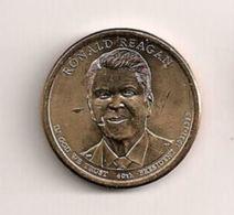 Etats-Unis - 1 Dollar - Ronald Reagan - 2007-…: Presidents