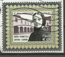 Italia 2016, S. Francesca Cabrini (o) - 6. 1946-.. Repubblica