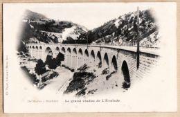 X39232 Edit PAGET Libraire - MOREZ Jura Le Grand Viaduc De L'EVALUDE 1890s - Morez