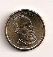 Etats-Unis - 1 Dollar - James Garfield - 2007-…: Presidents