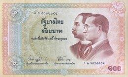 Thailand 100 Bath, P-110 (2002) - UNC - Thailand