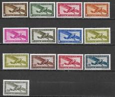 INDOCHINE Poste Aérienne 1933 à 1944 -  Lot De 13 Timbres ** (MNH) Cote YT : 6 Euros - Luftpost